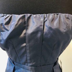 J. Crew Dresses - J. CREW Shimmery Blue Sleeveless Dress